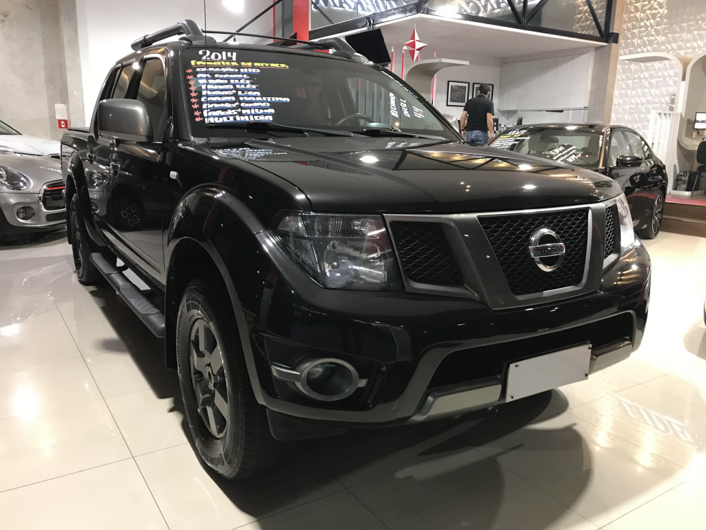 NISSAN FRONTIER 2.5 SV ATTACK 10 ANOS 4X2 CD TURBO ELETRONIC DIESEL 4P MANUAL