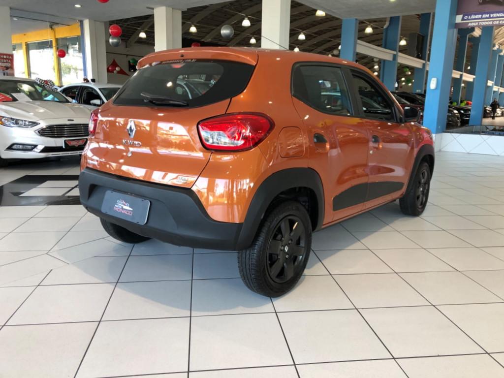 Renault Kwid 2018 Zen 1.0 Completo