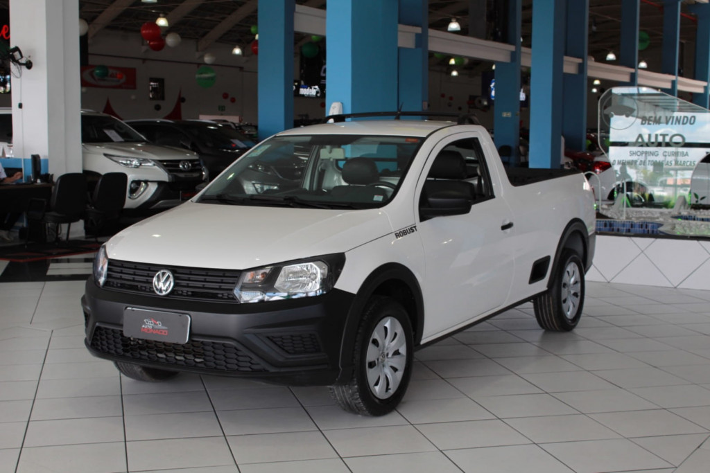 Volkswagen Nova Saveiro Rb Mbvb Robust Completo
