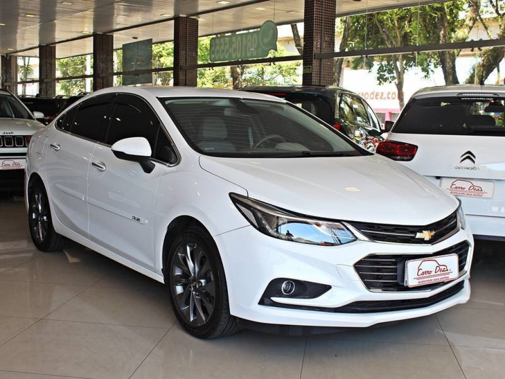 Chevrolet Cruze 1.4 LTZ Turbo Flex AT 2018