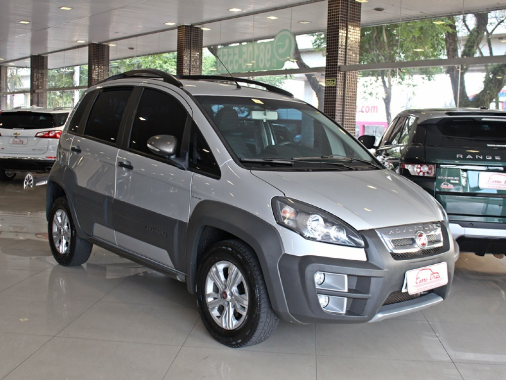 FIAT IDEA 1.8 ADVENTURE FLEX 4P AUT