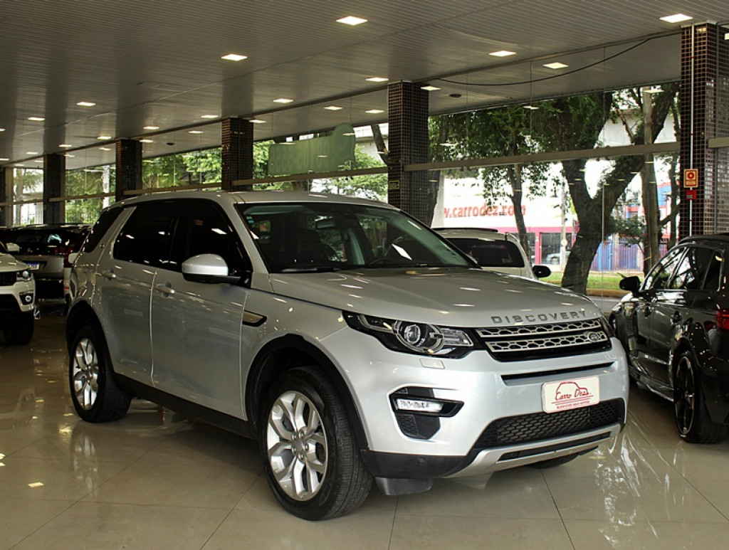 LAND ROVER DISCOVERY SPORT 2.0 16V SI4 TURBO FLEX HSE 4P AUT
