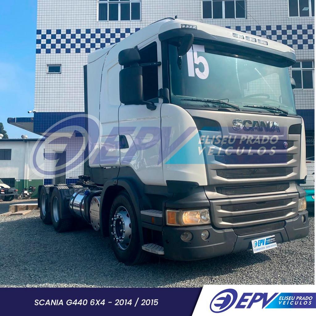 Imagem do veículo SCANIA R 440 A 6x4 Highline 2P (E5)