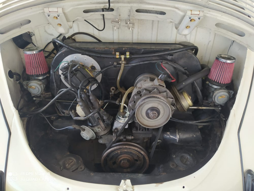 Imagem do veículo VOLKSWAGEN FUSCA 1.6 8V GASOLINA 2P MANUAL
