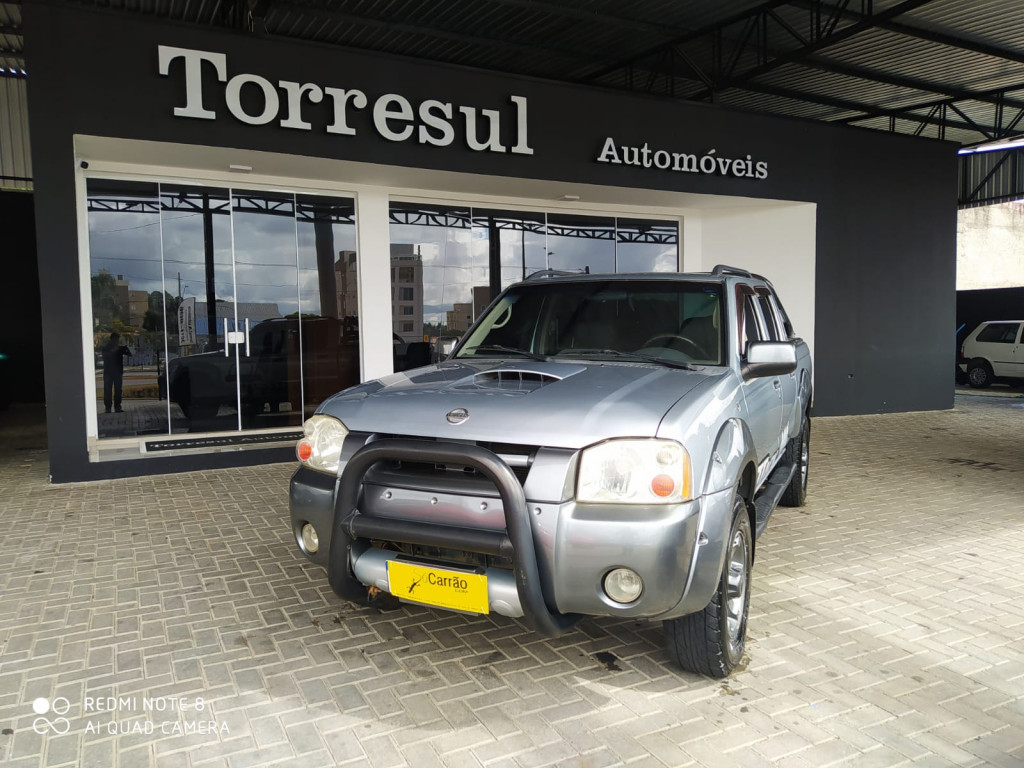 NISSAN FRONTIER 2.8 XE ATTACK 4X2 CD TURBO ELETRONIC DIESEL 4P MANUAL