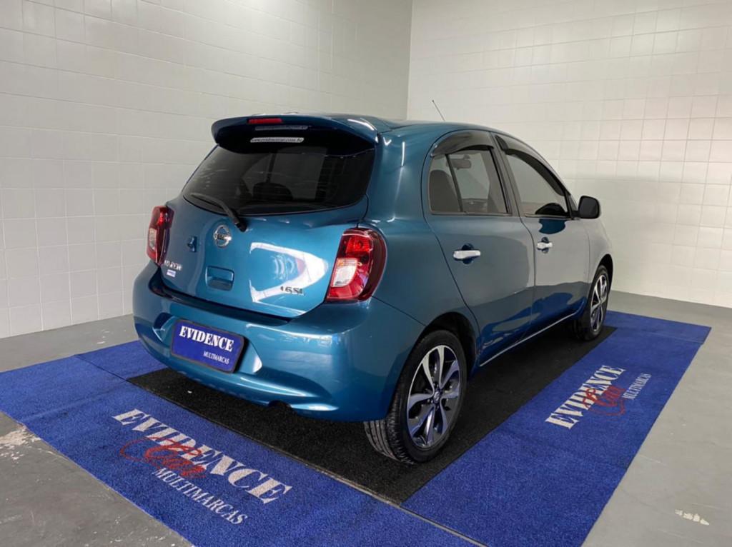 Imagem do veículo Nissan March Sl 1.6 16v Flex Fuel 5p