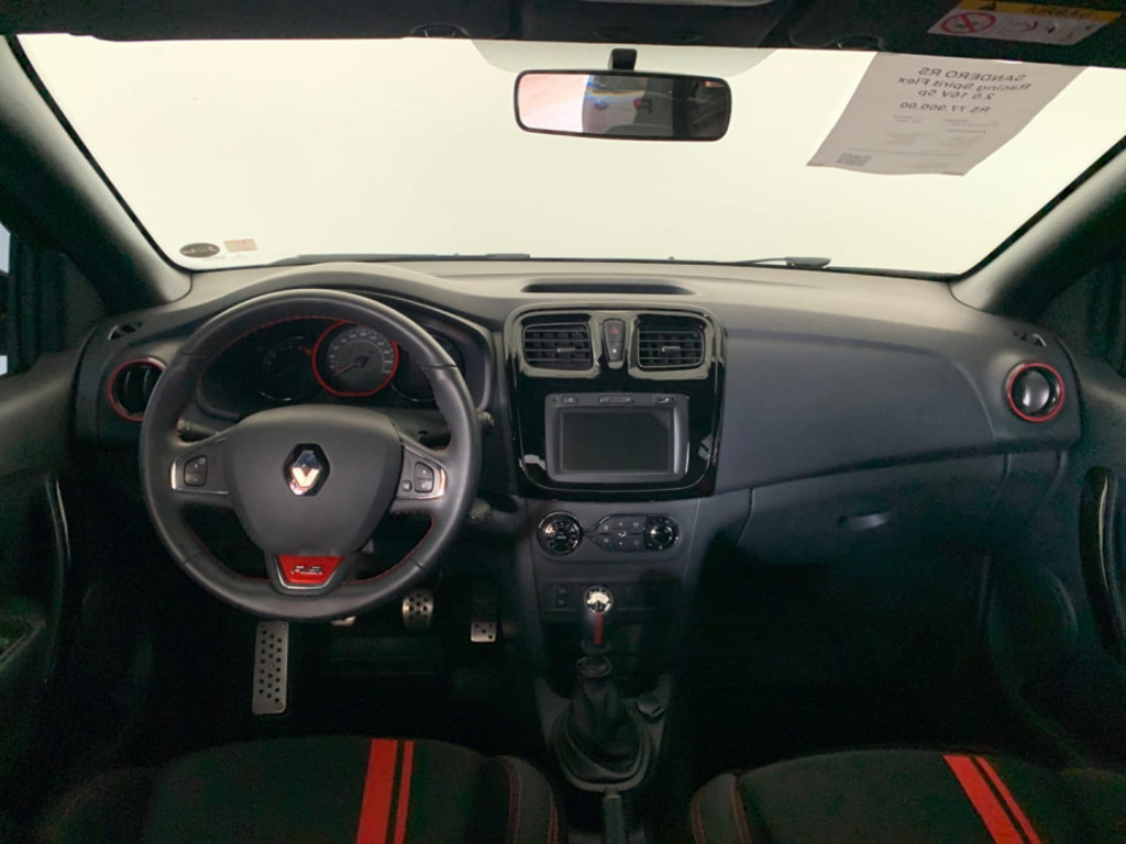 Imagem do veículo Renault Sandero Rs Racing Spirit Flex 2.0 16v 5p