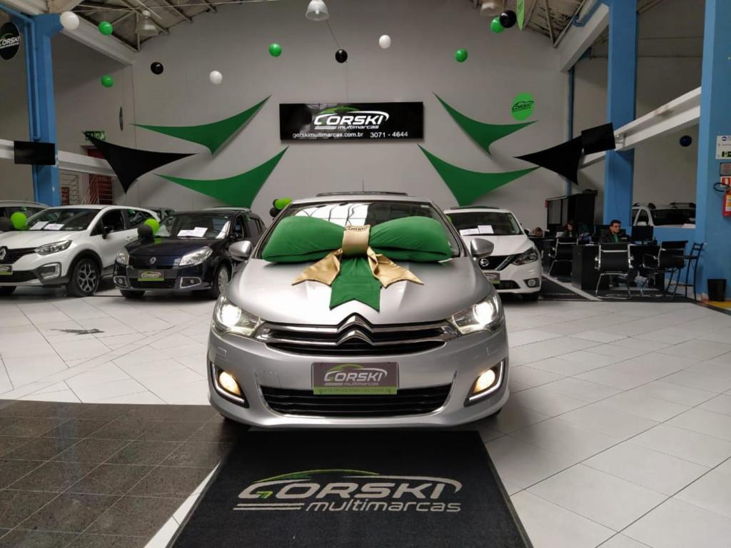 Citroen C4 Lounge Exclusive 1.6 Turbo 4p Aut