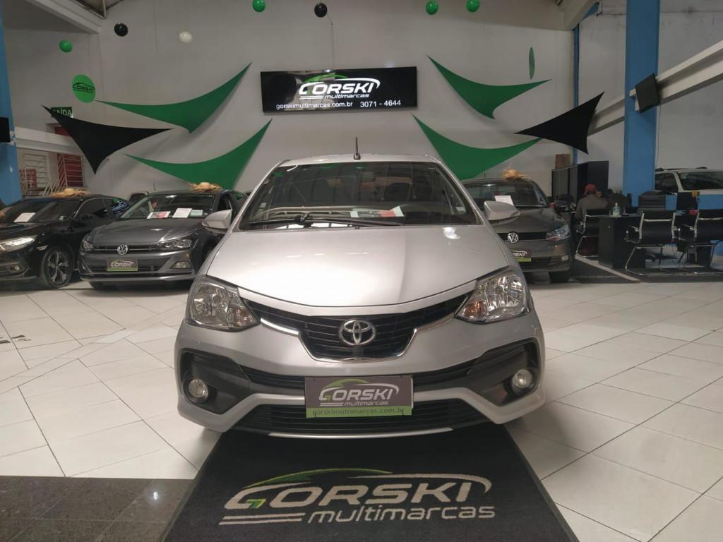 Imagem do veículo Toyota Etios 1.5 Platinum Sedan 16v Flex 4p Aut