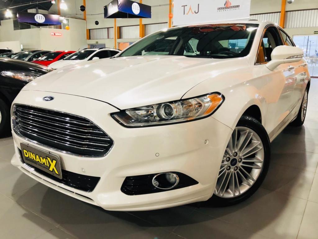 Ford Fusion Titanium Gtdi 2016 Impecavel!!