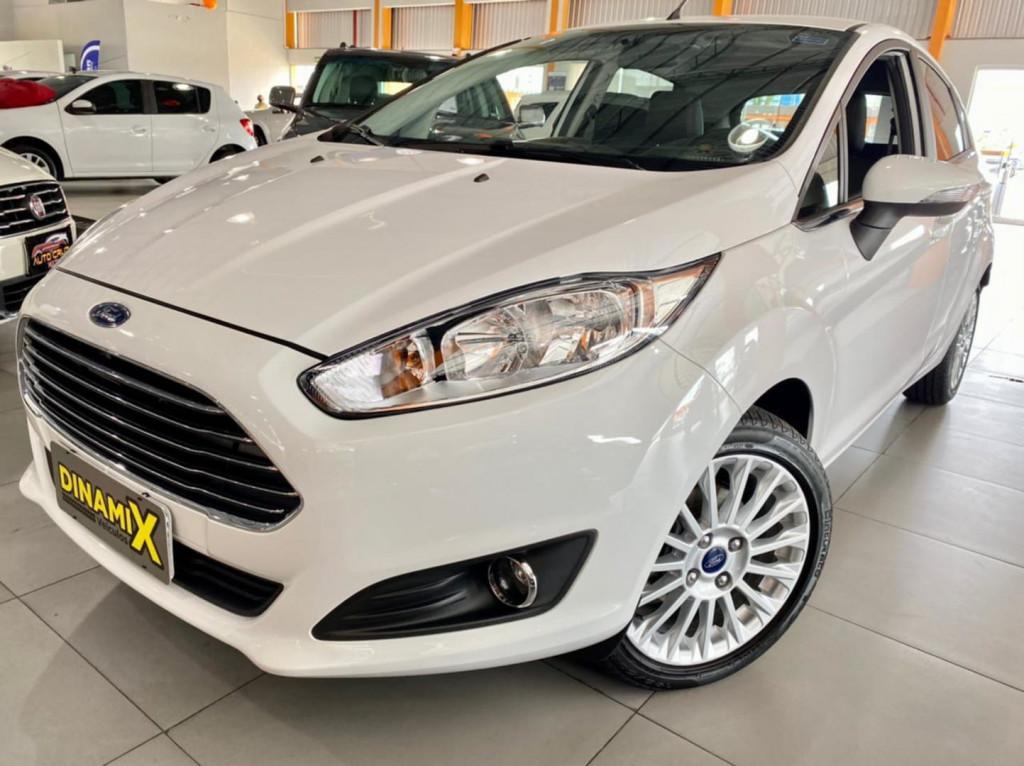 Ford Fiesta 1.6 Titanium 2017 Unica Dona!
