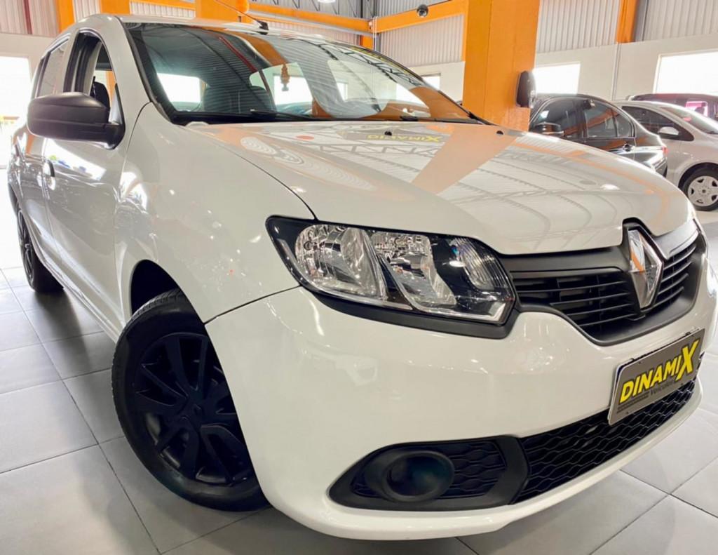Renault Sandero Authentique 1.0 2019 Unico Dono!