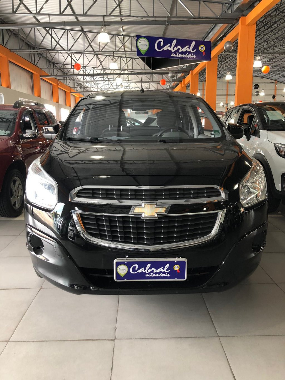 Chevrolet Spin Lt 1.8 8v Econo.flex 5p Aut. - Preto - 2013