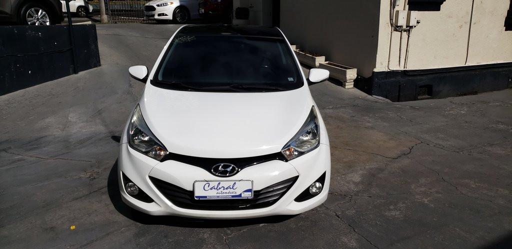 Hyundai Hb20 Premium 1.6 Flex 16v Aut. - Branco - 2014