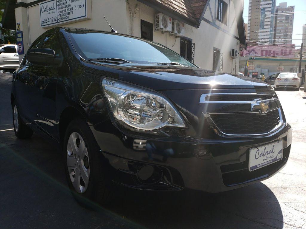 Chevrolet Cobalt Lt 1.8 8v Econo.flex 4p Aut. - Preto - 2014