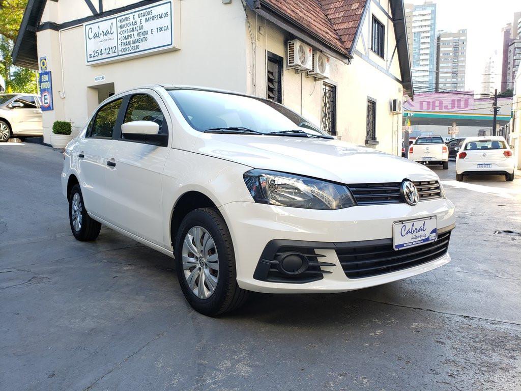 Volkswagen Voyage Trendline 1.0 T.flex 12v 4p - Branco - 2017