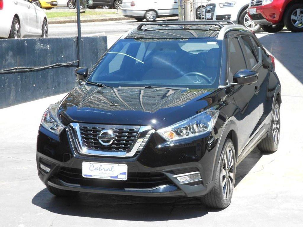 Nissan Kicks Sl 1.6 16v Flexstar 5p Aut. - Preto - 2017