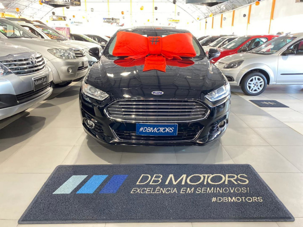 Ford Fusion Titanium 2.0 Gtdi Ecobo. Fwd Aut.