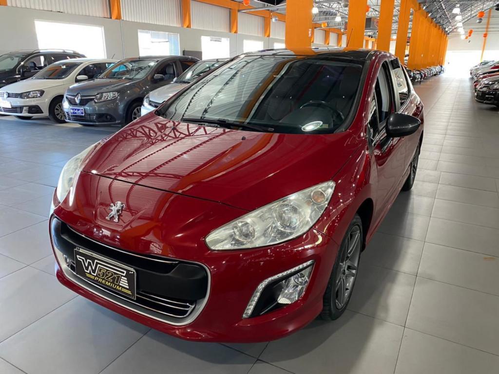 Peugeot 308 1.6 Griffe Thp 16v Gasolina 4p Automatico