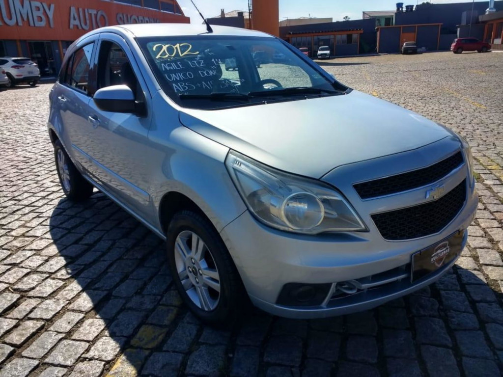 Chevrolet Agile Hatch Ltz 1.4 8v Flex 4p