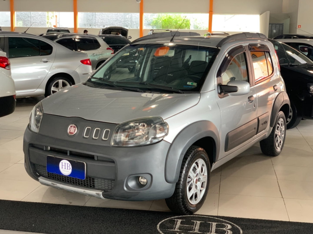 Fiat Uno Evo Way 1.4 8v Etagas Nac 4p