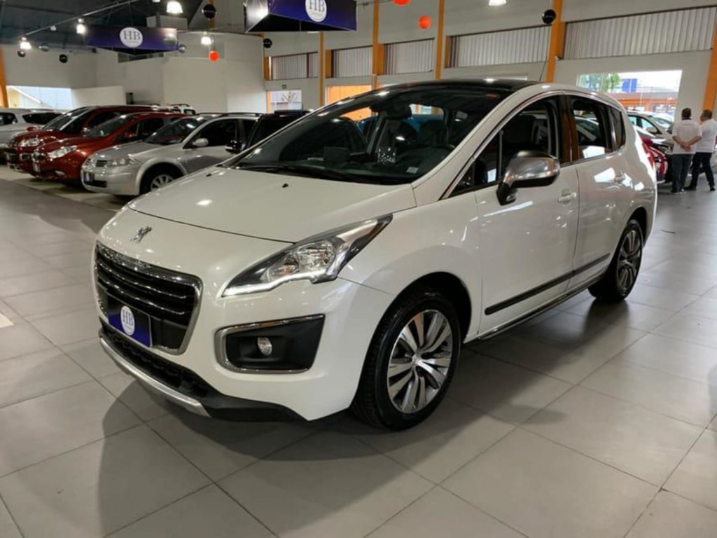 Peugeot 3008 1.6 Griffe Thp 16v Gasolina 4p Aut 2016