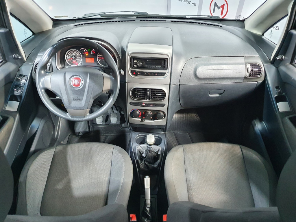 Imagem do veículo FIAT IDEA ATTRACTIVE 1.4 FLEX 4P MANUAL - 2014 - CINZA