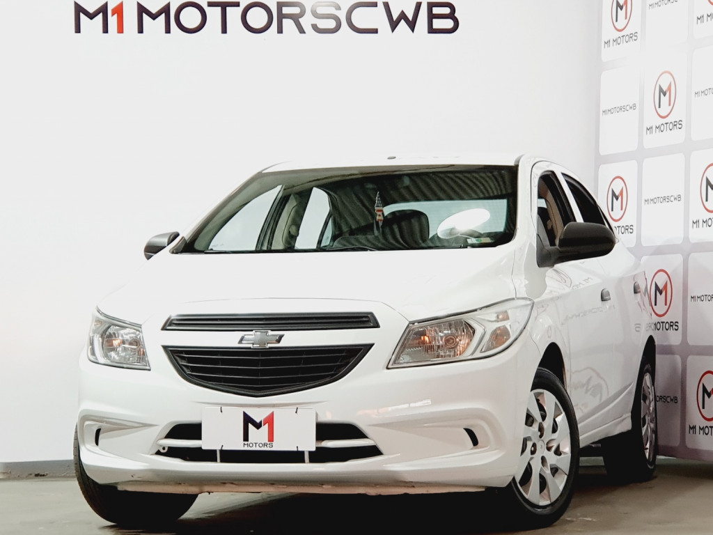 CHEVROLET ONIX LS 1.0 FLEX 4P MANUAL - 2015 - BRANCO