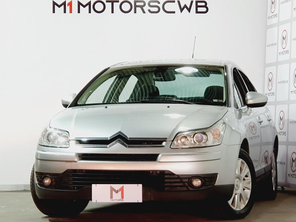 CITROËN C4 PALLAS EXCLUSIVE 2.0 FLEX 4P AUTOMÁTICO 4M - 2013 - PRATA