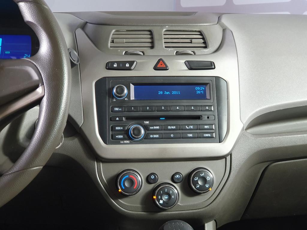 Imagem do veículo CHEVROLET COBALT LTZ 1.4 FLEX 4P MANUAL - 2012 - CINZA
