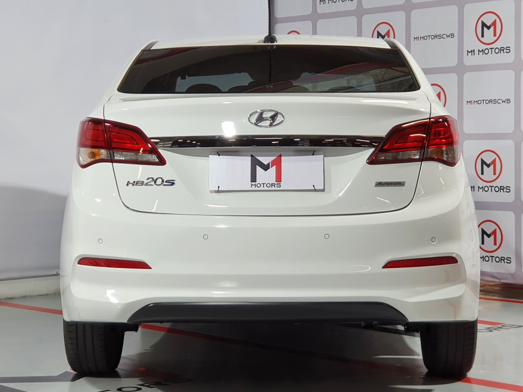 Imagem do veículo HYUNDAI HB20S PREMIUM 1.6 FLEX 4P AUTOMÁTICO 6M - 2019 - BRANCO
