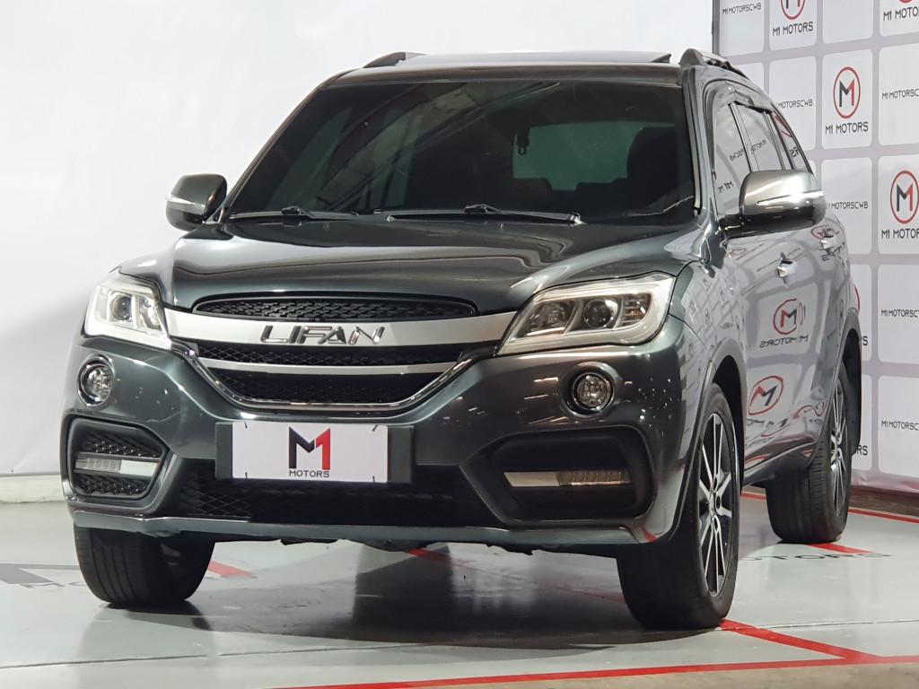Imagem do veículo LIFAN X60 VIP 1.8 GASOLINA CVT - 2018 - CINZA