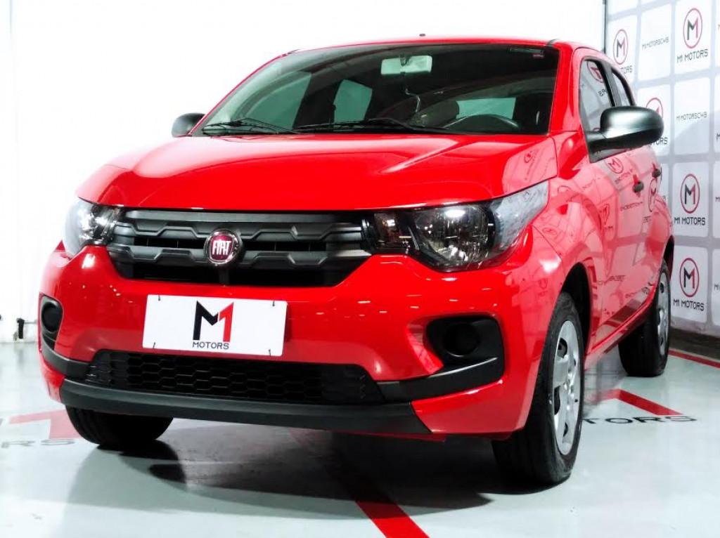 FIAT MOBI LIKE 1.0 FLEX MANUAL - 2020 - VERMELHO