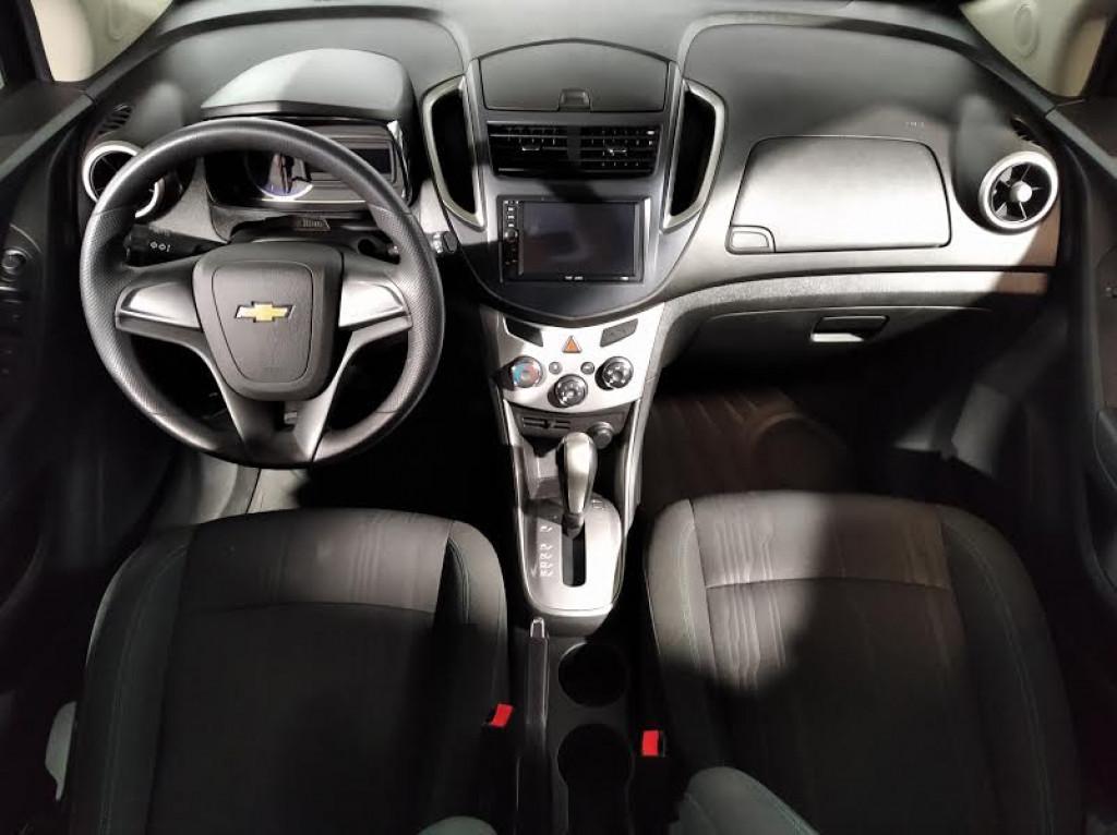 Imagem do veículo CHEVROLET TRACKER LT 1.8 FLEX 4P AUTOMÁTICO 6M - 2016 - CINZA