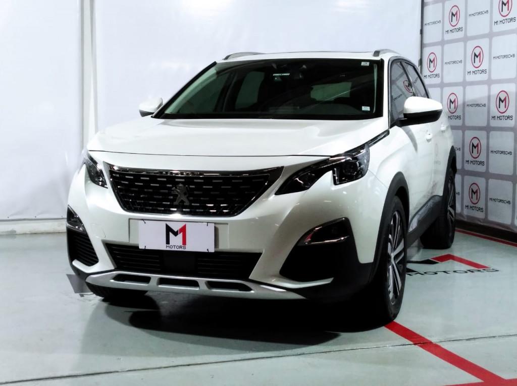 PEUGEOT 3008 GRIFFE 1.6 THP GASOLINA 4P AUTOMÁTICO 6M - 2019 - BRANCO PÉROLA