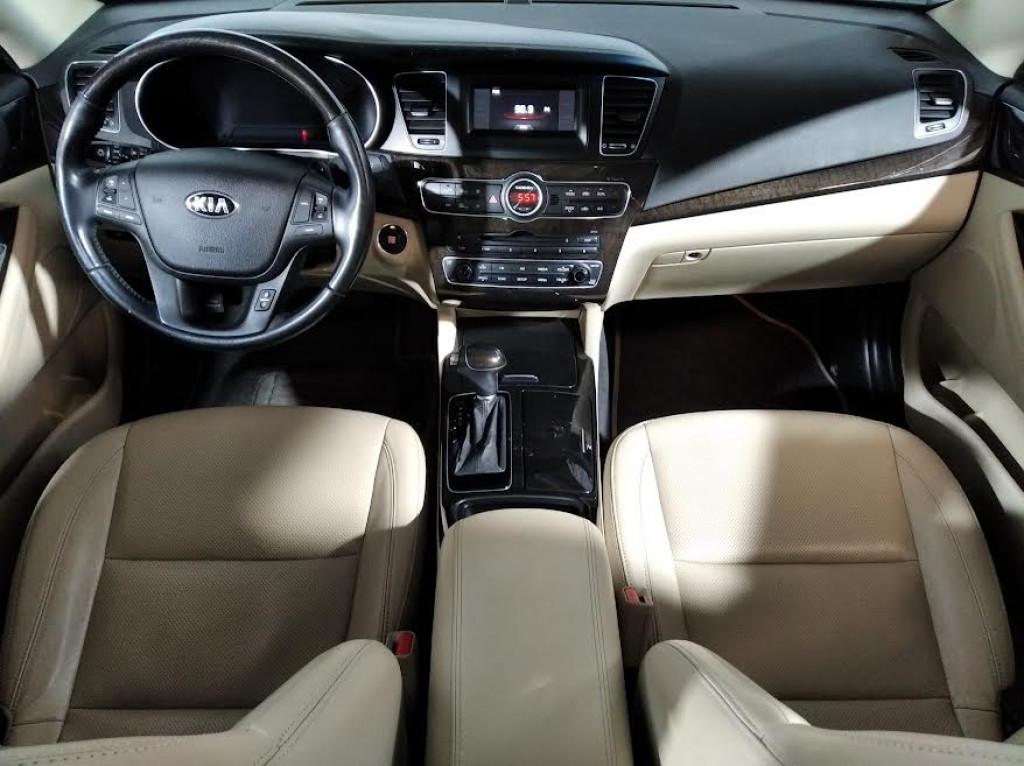 Imagem do veículo KIA CADENZA EX 3.5 V6 GASOLINA 4P AUTOMÁTICO 6M - 2014 - PRETO