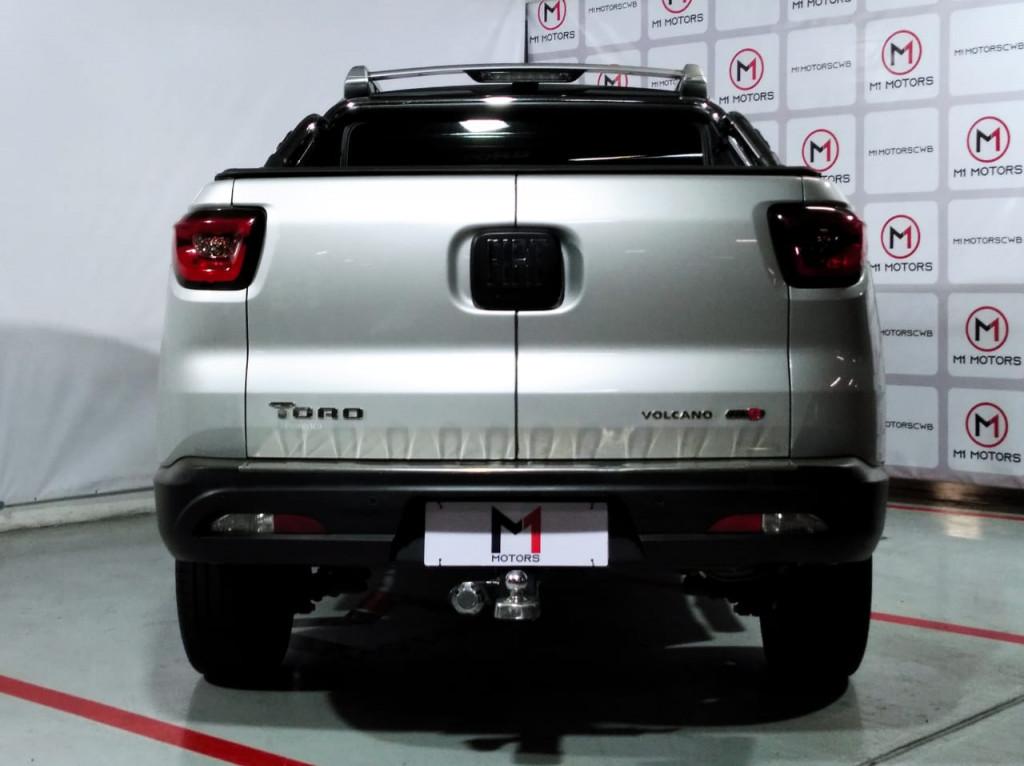 Imagem do veículo FIAT TORO VOLCANO 4X4  2.0 TURBO DIESEL AUTOMÁTICO 9M - 2019 - PRATA