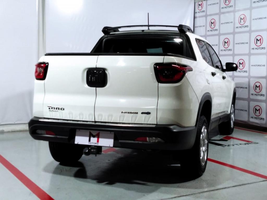 Imagem do veículo FIAT TORO FREEDOM 1.8 EVO FLEX  AUTOMÁTICO 6M - 2018 - BRANCO