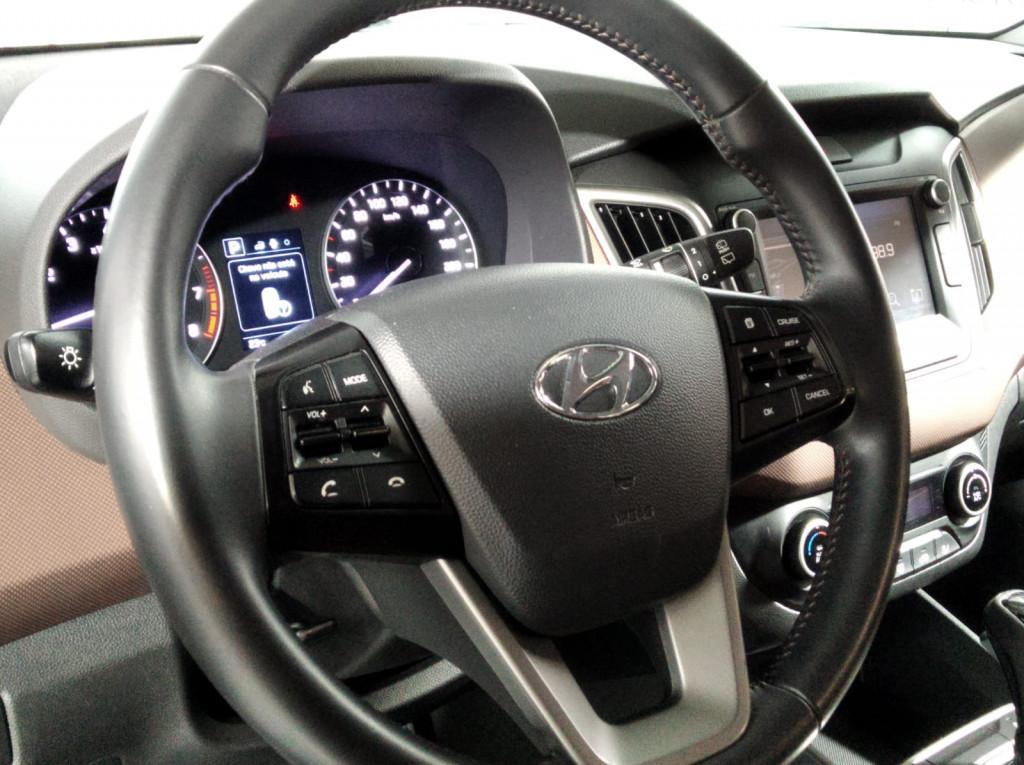 Imagem do veículo HYUNDAI CRETA PRESTIGE  2.0 FLEX AUTOMÁTICO 6M - 2019 - PRETO