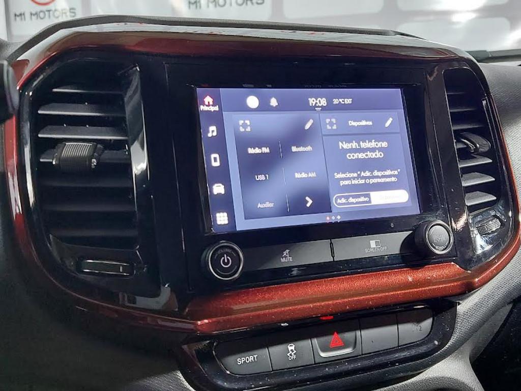 Imagem do veículo FIAT TORO FREEDOM 1.8 EVO FLEX AUTOMÁTICO - 2021 - PRETO