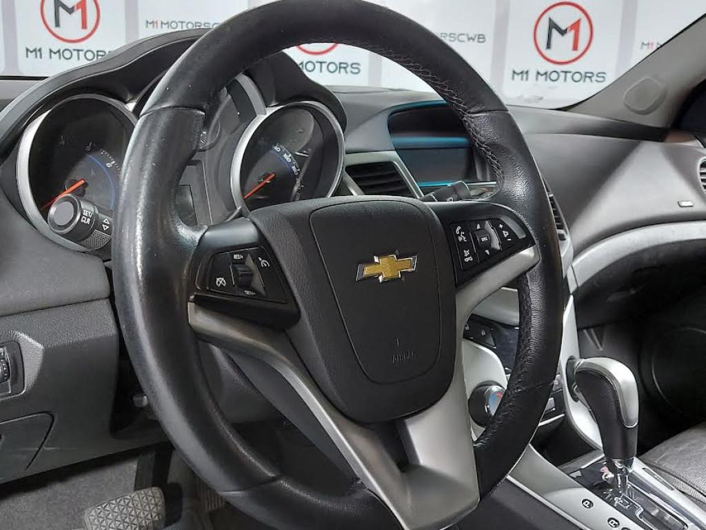 Imagem do veículo CHEVROLET CRUZE LT 1.8 FLEX 4P AUTOMÁTICO 6M - 2016 - BRANCO