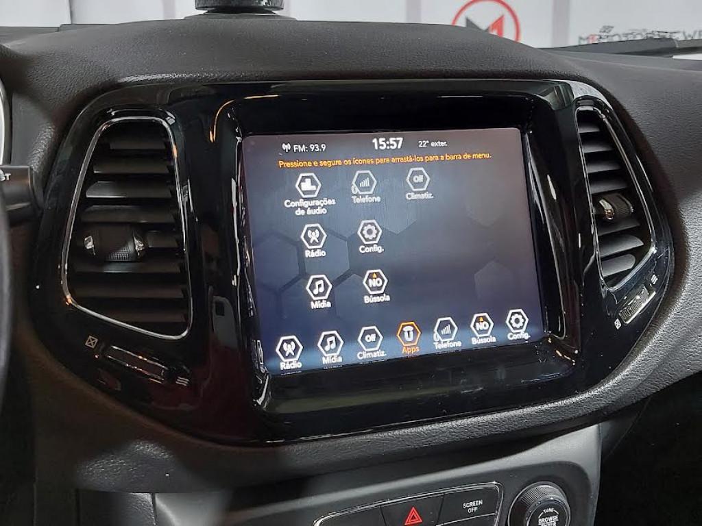 Imagem do veículo JEEP COMPASS LIMITED 2.0 FLEX AUTOMÁTICO 6M - 2018 - CINZA