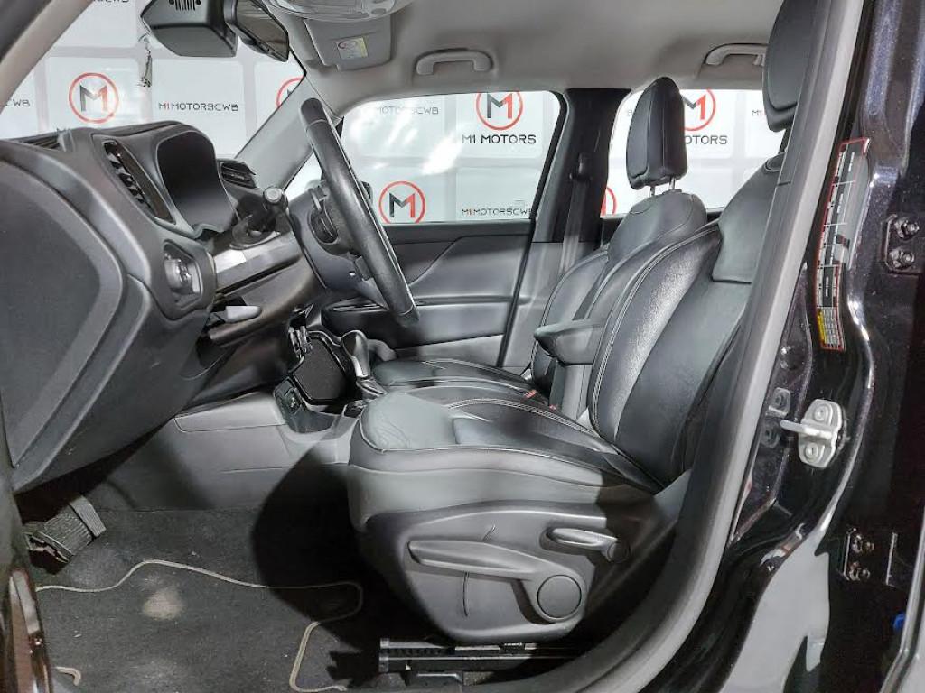 Imagem do veículo JEEP RENEGADE LIMITED 1.8 FLEX 4P AUTOMÁTICO 6M - 2018 - PRETA