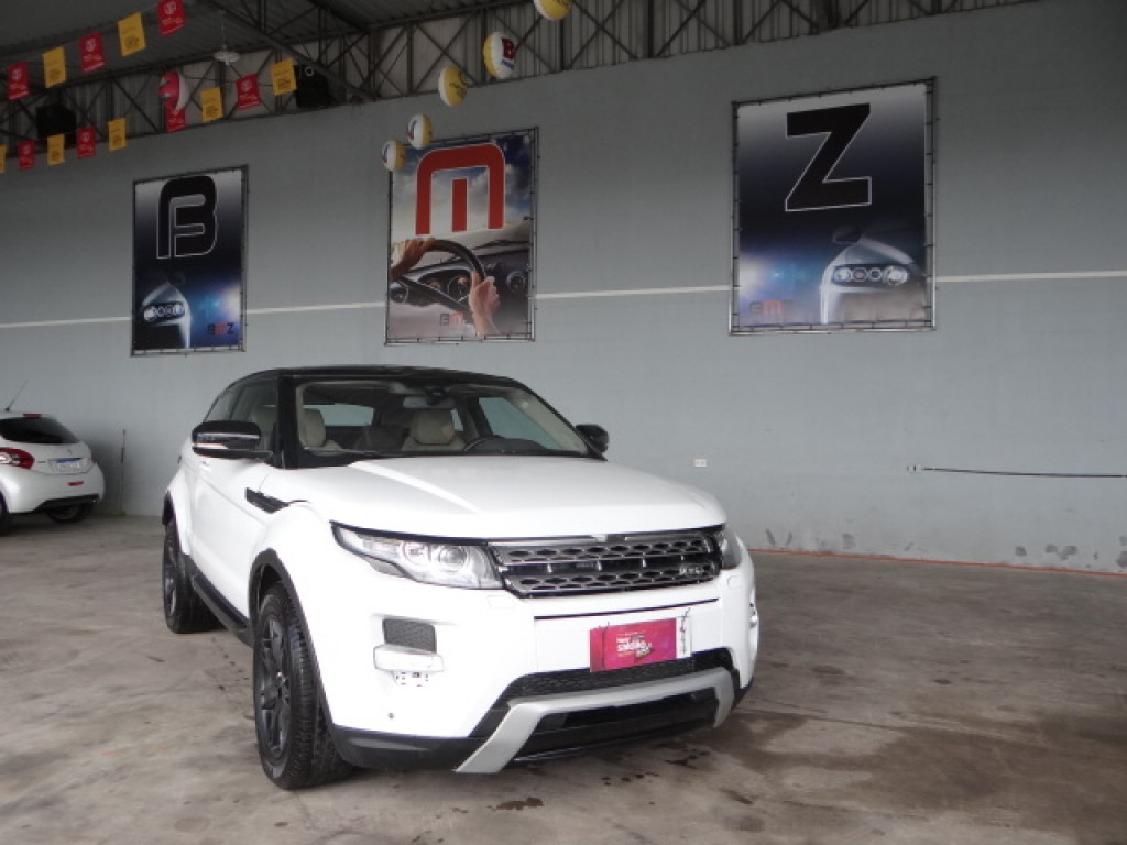 EVOQUE 2.0 PURE TECH COUPÉ 4WD 16V GASOLINA 2P AUTOMÁTICO