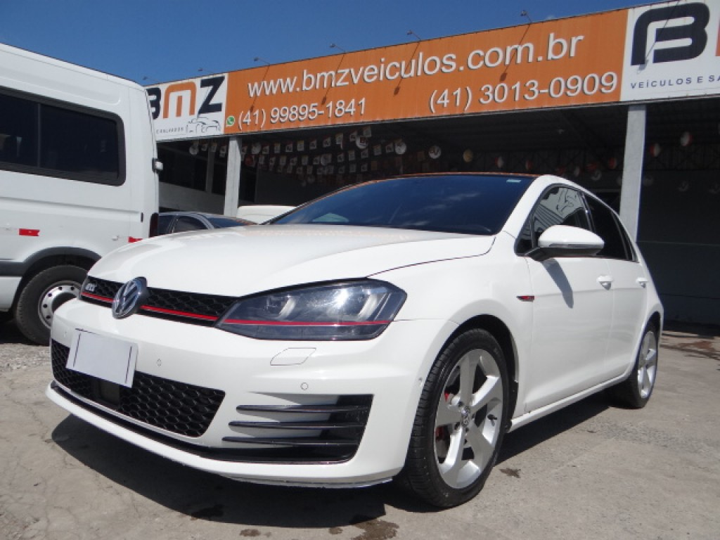 GOLF 2.0 TSI GTI 16V TURBO GASOLINA 4P AUTOMÁTICO
