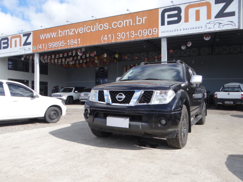 FRONTIER 2.5 SEL 4X4 CD TURBO ELETRONIC DIESEL 4P AUTOMÁTICO