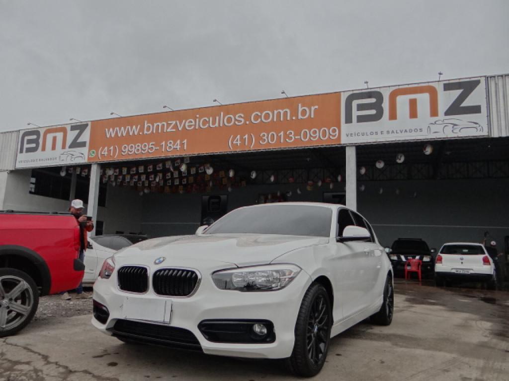 BMW 120i 2.0 16V SPORT ACTIVEFLEX 4P AUTOMÁTICO