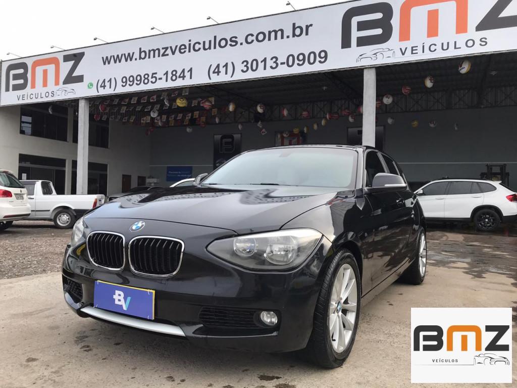 BMW 118i 1.6 URBAN LINE 16V TURBO GASOLINA 4P AUTOMÁTICO