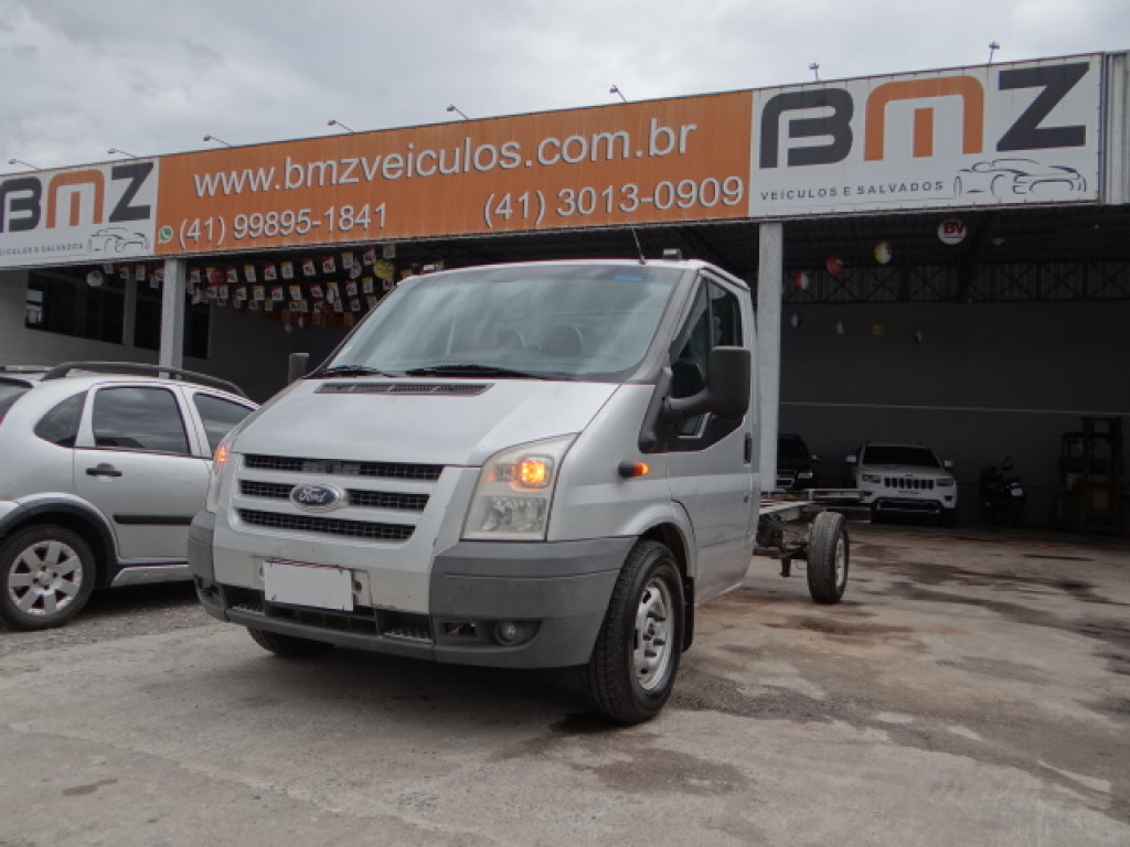 FORD TRANSIT 2.4 CHASSI TURBO DIESEL 2P MANUAL