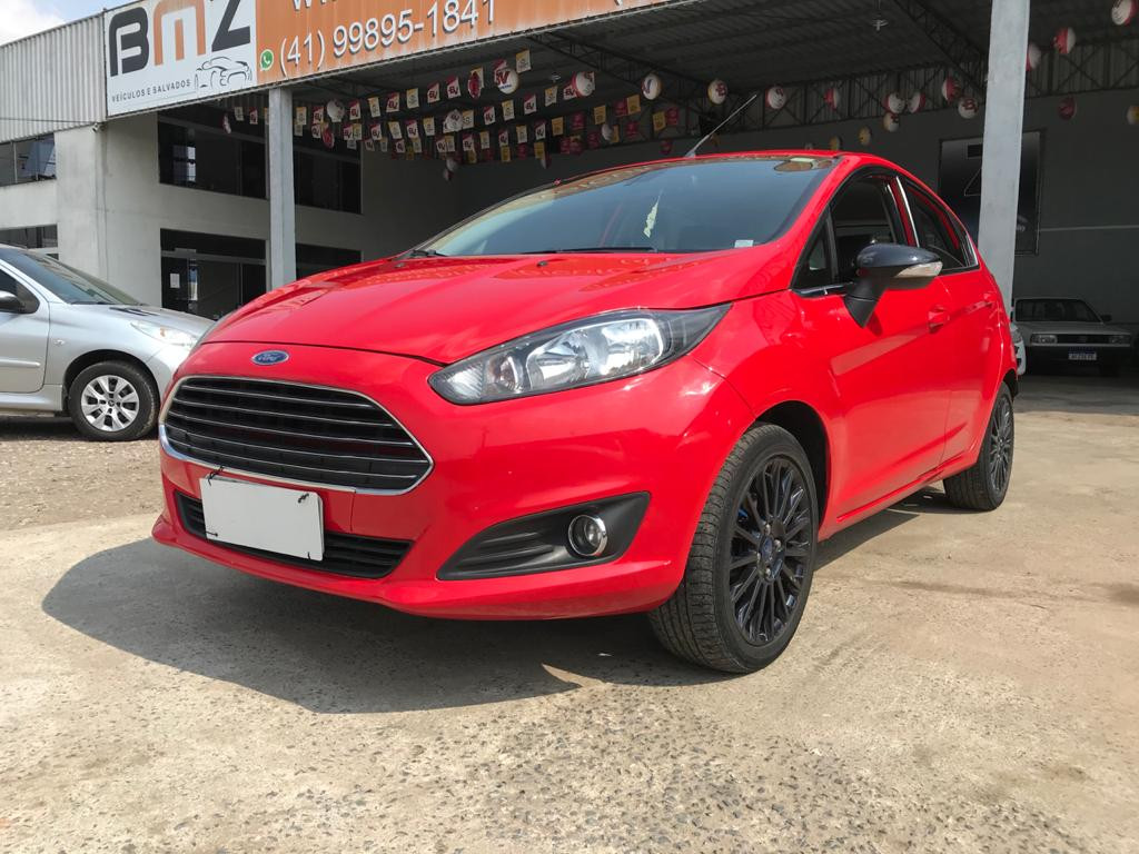 FIESTA 1.6 TITANIUM  HATCH 16V FLEX 4P POWERSHIFT